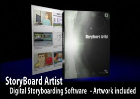 Storyboarding software with versatility
