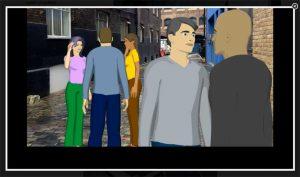 Ken Burns Effect created in StoryBoard Artist Storyboard Software