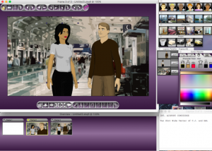 storyboard quick studio screen shot from technofile gold award review