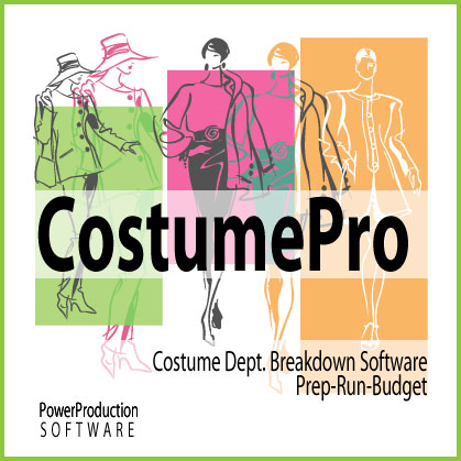 CostumePro for costume breakdown
