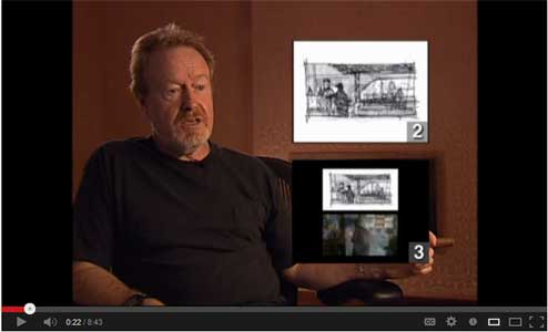 The Art of Storyboarding with Ridley Scott