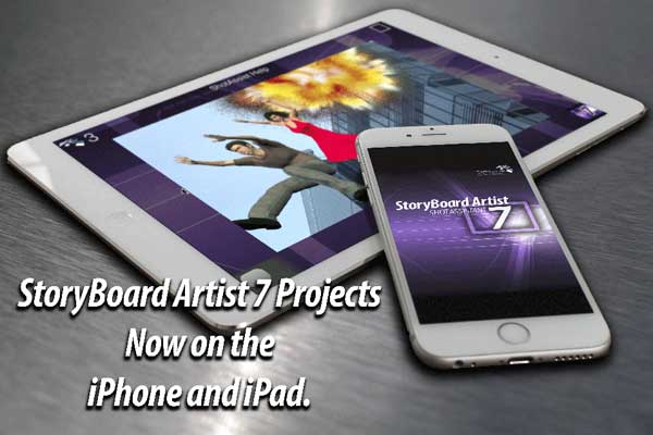 StoryBoard Artist exports to your mobile devices so you can check off your shots as you shoot