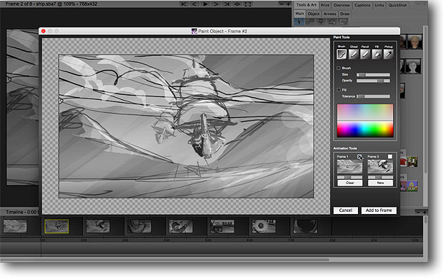 StoryBoard Artist Studio Painting & Animation