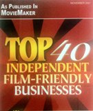 Film friendly business