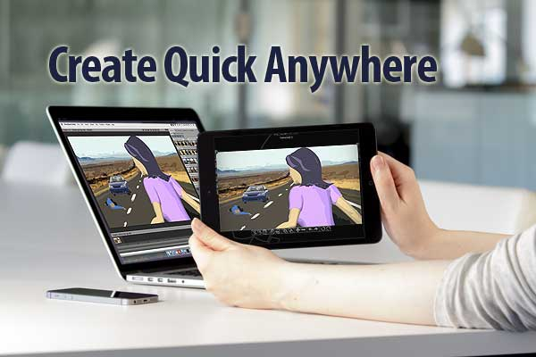 StoryBoard Quick Direct now on iPad, iPhone & Android
