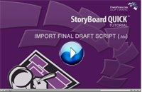storyboard quick tutorial