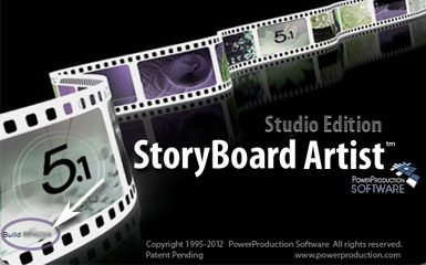 Storyboard Artist Splash