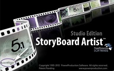 Storyboard Artist Splash