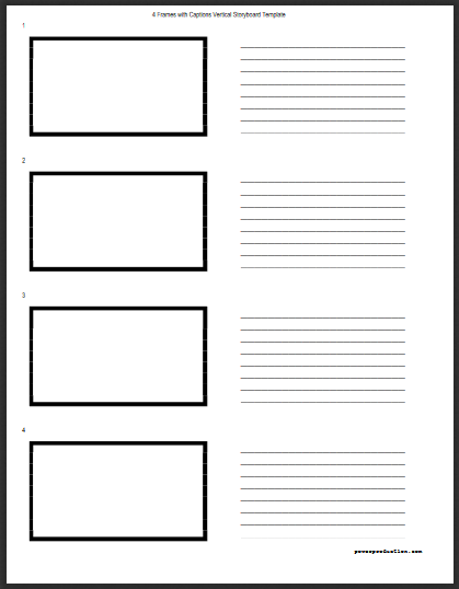 Tv Commercial Storyboard Template from www.powerproduction.com