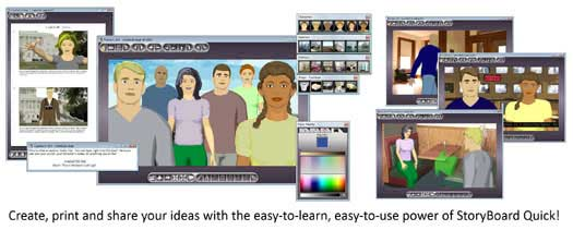 storyboard quick feature-packed for quick preproduction